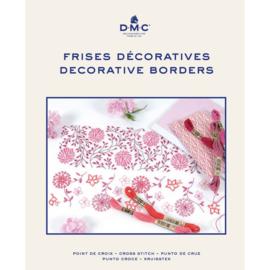 DMC borduurboek DECORATIEVE RANDEN