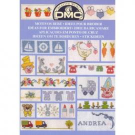 DMC Borduurboekje BABY/KINDER MOTIEVEN 2
