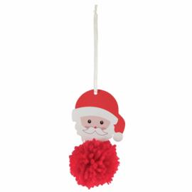 Pom Pom Kit Kerstman 6 x 10.5 cm