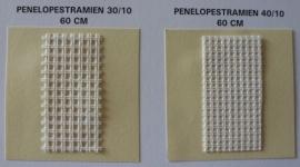 Penelope stramien 40/10 (4 gaatjes per cm)