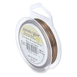 Artistic Wire Antique Brass ( 20 yard )