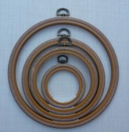 Borduurring / lijst houtnerf 18 cm