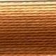 DMC Mouline 105 variegated Tan Brown