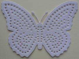 VLINDER om te borduren 11,5 x 9 cm