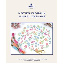 DMC borduurboek FLORAL DESIGNS