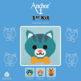 POES  borduurpakket 15 x 15 cm (Anchor)