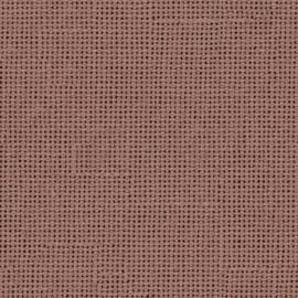 Jobelan Koffiebruin (157)/ 28 count / 11 dr. - afmeting 100 x 140 cm
