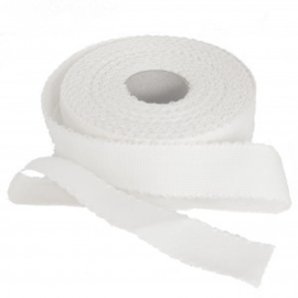 Restje Aida borduurband Wit 3,5 cm breed  x 35 cm