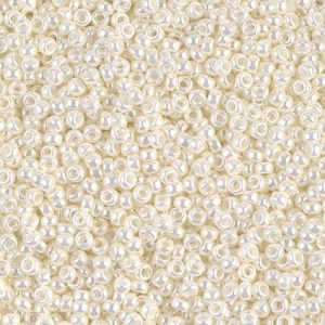 Miyuki Rocailles 11-0591 Ivory Pearl Ceylon - 10 gram
