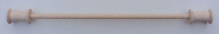 Houten ophangstokje 15 cm breed