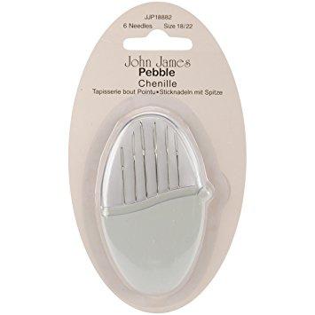 Pebble van John James met 6 borduurnaalden scherpe punt