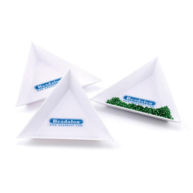 Kralen tray driehoek