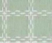 Beiersbont Mint / Wit  - afmeting 50 x 80 cm