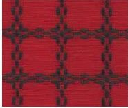 Beiersbont Rood / Groen - afmeting 100 x 80 cm