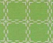Beiersbont Lindegroen / Ivoor  - afmeting 100 x 80 cm