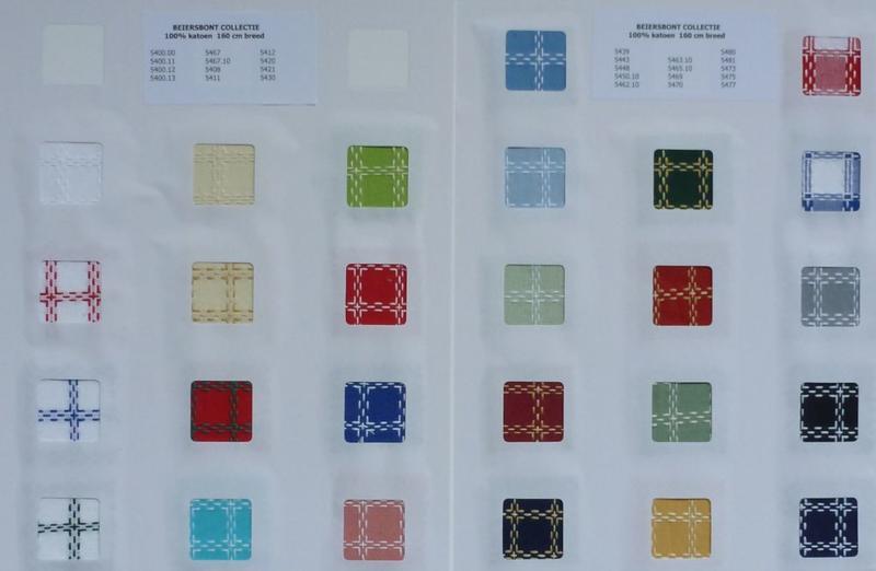 Kleurenkaart Beiersbont