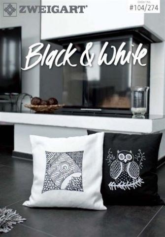 BLACK & WHITE - Zweigart No. 104/274