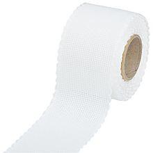 Aida borduurband wit 7 cm breed