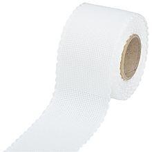 Aida borduurband wit  8 cm