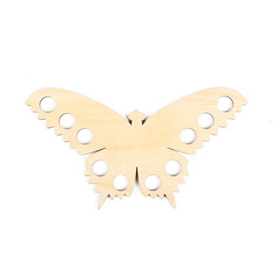 Garen organiser houten Vlinder