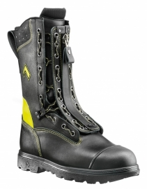 Haix Fire Flash Gamma - Lace-zipper boot with class 2 protective cut-resistance