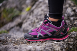 Haix Black Eagle Adventure 2.1 GTX Ws low / paars-roze