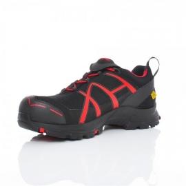 Haix Black Eagle Safety 40 Low S3 zwart/rood - maat 35 en 45