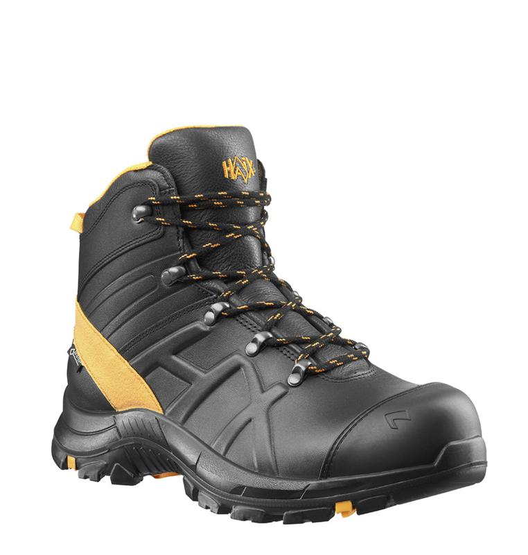 Haix Black Eagle Safety 54 mid zwart/oranje