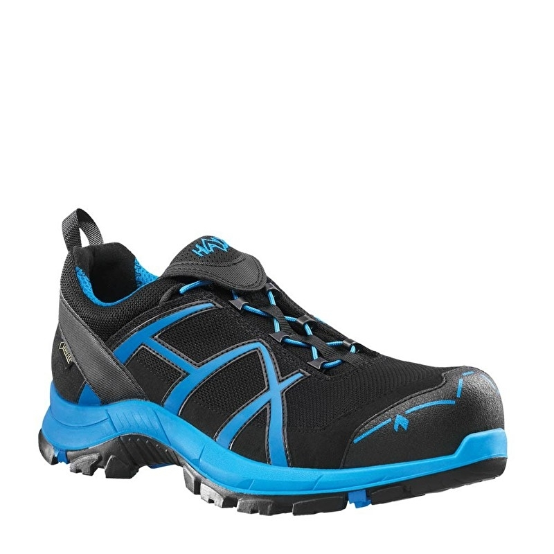 Haix Black Eagle Safety 40 Low zwart/blauw