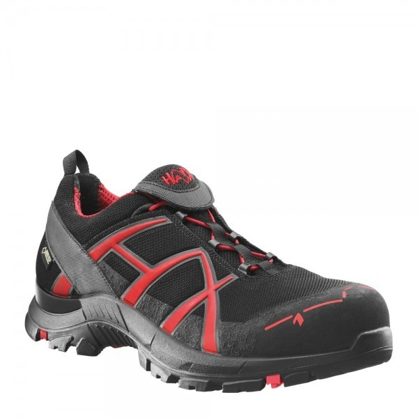 Haix Black Eagle Safety 40 Low zwart/rood