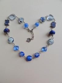 201311 Ketting blauw (zelfmaakpakket)