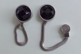 201234 Brilclip zwart
