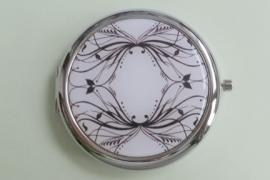 201292 Make-up spiegel zwart/wit