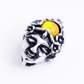 kraal met gele steen