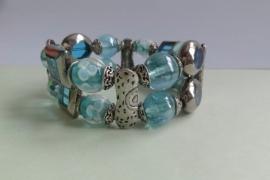201297 Aqua armband