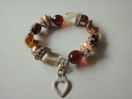 201257 Bruine armband