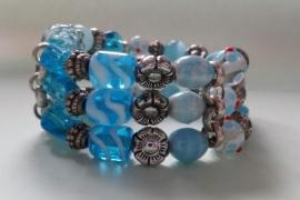 201293 Aqua armband