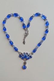 201337 Blauwe ketting