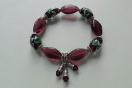 201240 Paarse armband