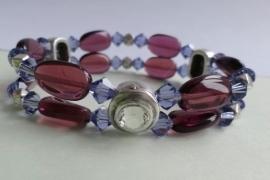 201294 Paarse armband