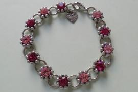 201268 Roze armband