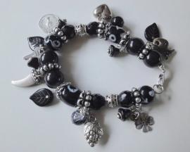 201261 Zwarte armband