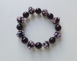 201266 Zwarte armband