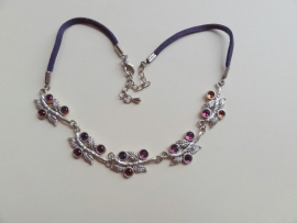 201333 Paarse ketting