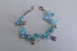 201247 Aqua armband
