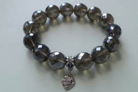 201271 Grijze armband
