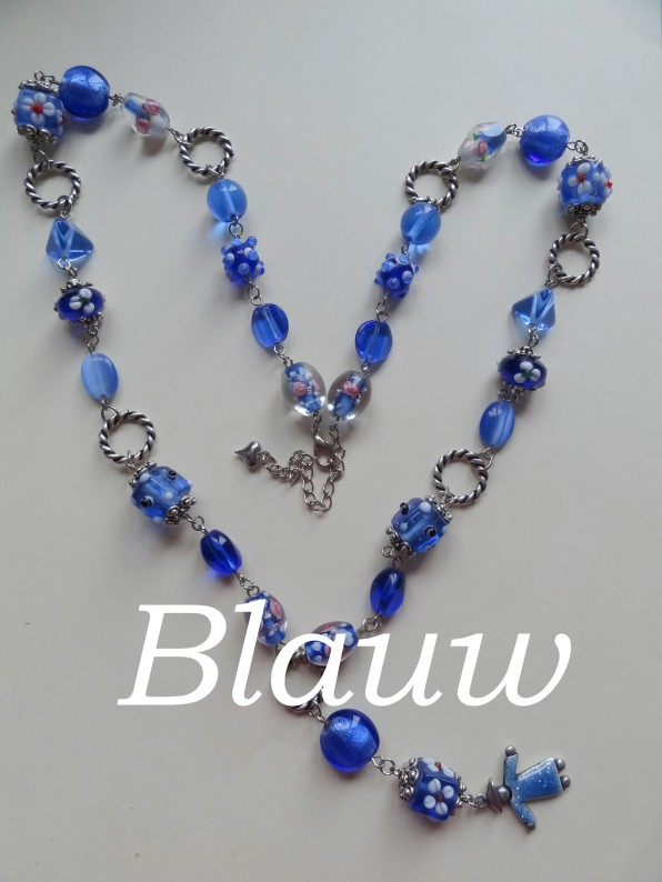ketting blauw