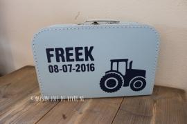 Koffertje tractor 30 cm