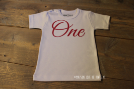 Shirtje one