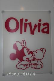 Geboorter raambord Olivia